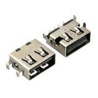 USB连接器厂家直销2.0AF沉板