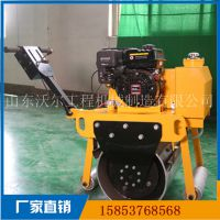 小型压路机厂家 激振力1.5吨手扶单钢轮压实机
