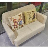 倍斯特定制现代中式实木沙发休闲餐厅咖啡奶茶布艺沙发