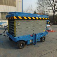 太原厂家直销12米移动式升降机 剪叉式电动升降作业平台