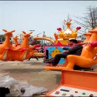 郑州格林游乐设备专业生产型玩的袋鼠跳