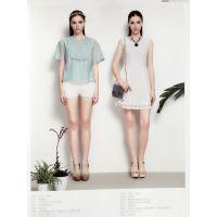佰佧丽17夏现货多种款式多种风格香云纱品牌女装女装尾货库存批发
