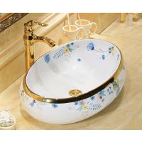 台上卫生间高档手绘陶瓷洗手洗脸盆艺术盆