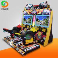 步风动漫大型模拟机 超级摩托车电玩城动感游戏机