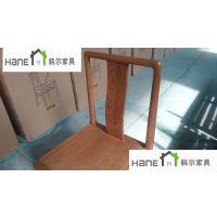 上海中餐厅实木椅子 中式实木桌椅定制 上海韩尔家具厂