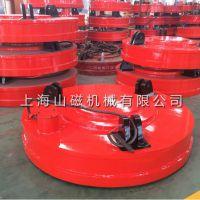 上海山磁MW5高频强磁起重电磁铁、一款挖机叉车杭吊码头吊均可使用的一款产品