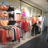 锐力女装展柜 专卖店展示柜 服装展示架上墙 烤漆展柜定做
