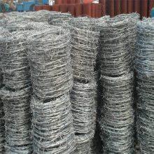 铁丝刺绳 单股刺绳 铁蒺藜多少钱一米