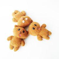 小挂件毛绒玩具熊娃娃玩偶生产厂家直销看图打版可定制