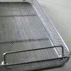 浙江澳洋不锈钢304消毒筐、医疗器械清洗筐厂家