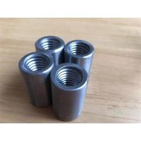北京12钢筋连接套筒|直螺纹套筒|钢筋接驳器|45号碳钢材质