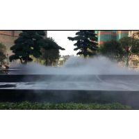 湖南长沙花园人造雾商业街冷雾装置工程