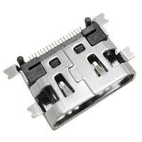 FC 贴片 HDMI-519P 外形尺寸:11.2mm*8mm*3.2mm