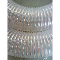 山实pu钢丝塑料管 钢丝增强软管