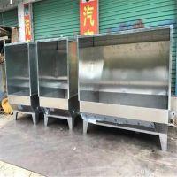 万江2.4米双人水帘柜 双工位水濂柜 双向对喷式喷油柜 锋易盛制造