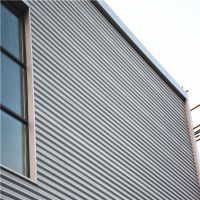 浙江时宇 供应780型彩钢波浪板 彩涂圆弧板 大波浪彩钢板 大波纹装饰