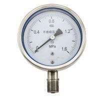 天彩供应Y60BF不锈钢压力表价格优惠Y60BF不锈钢压力表