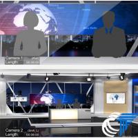 虚拟演播室 广西恩能 三维虚拟演播室系统 3D场景虚拟抠像室 ?虚拟直播系统