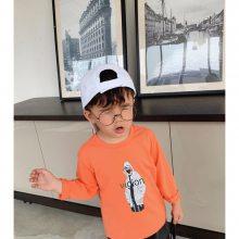 韩版童装批发 春秋季男女童长袖t恤 新款儿童打底衫 地摊外贸童装货源