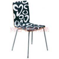 嘉峪关批发曲木椅,简约现代肯德基不锈钢餐椅组合