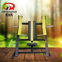 坐式上斜推胸训练器 健身房健身器械 商用室内健身器材 可定制颜色