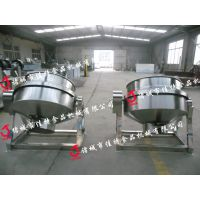 保定导热油夹层锅 自动控温夹层锅厂家