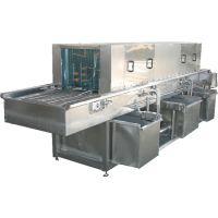 诸城正康食品机械供应塑料筐清洗机食品料筐水产品筐自动清洗设备