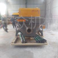 邢台乐众厂家细石混凝土泵价格工地浇筑地暖回填楼房上料机