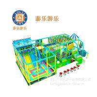 供应中山泰乐游乐制造 中小型室内外游乐设备亲子乐园 pvc材质 淘气堡(TQ-11)