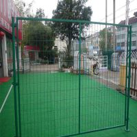低碳防护网价格 500丝绿色框网 草绿色围墙网