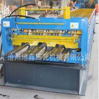 专业生产720型楼承板压瓦机 全自动彩钢楼承板成型机设备