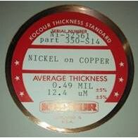 美国KOCOUR镀镍标准片 镀镍校准片 镀镍校准板 测厚仪校准片