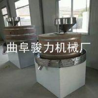 供应 超市电动香油石磨机 速食饮料米浆肠粉加工设备 骏力牌 石磨豆浆机