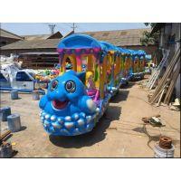 郑州智宝乐游乐游乐设备厂家直销电动小火车 优质玻璃钢定制