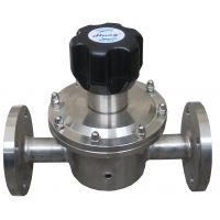 HYR14不锈钢法兰微压减压器