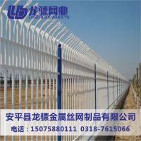 车站隔离栏杆 新校区建设外墙围栏 锌钢隔离栏杆