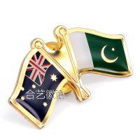 供应世界各国国旗徽章 旗帜徽章 国旗纪念襟章