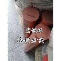 进口C1100紫铜棒 红铜棒批发 高导电紫铜方棒 紫铜棒厂直销