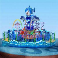 儿童游乐设备激战鲨鱼岛 大型游乐场设备 儿童游乐设施厂家批发