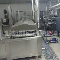 优品油炸粟米棒生产线 膨化食品油炸流水线 加工休闲食品成套设备