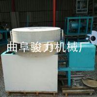 骏力直销 电动石磨米粉机 小麦青稞电动面粉机 全自动面粉石磨机