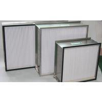 WOL厂家批发定制有隔板高效过滤器 不锈钢过滤器定制批发
