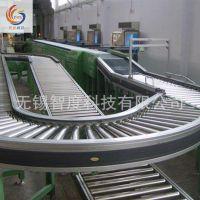 定制自动化滚筒转弯机输送线  厂家供应滚筒生产流水线设备