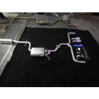 成都高尔夫6改装MRG中尾段阀门排气 双边排气 阀门跑车声浪