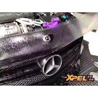 石家庄奔驰A45 AMG贴XPEL隐形车衣,美国进口TPU材质