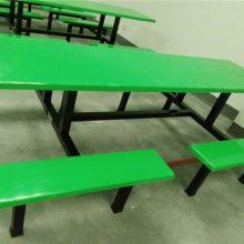 光明学校4人食堂餐桌椅 工厂8人饭堂餐桌价格图片