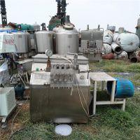 山东梁山正点二手设备出售上海张堰500L高压均质机 二手食品均质机