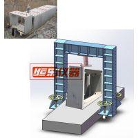 预制混凝土箱涵裂缝载荷压力机加载装置-恒乐仪器。