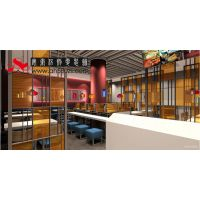 合肥特色小吃店设计开放式快餐小吃店面装修