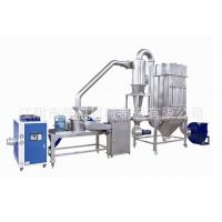 食品机械 米面加工设备 大米吸尘粉碎机组 薏米超微粉碎机